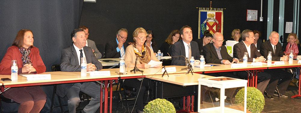 Photo d'une séance du conseil municipal