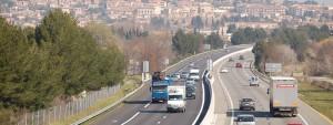 Photo de l'autoroute