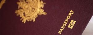 Photo d'un passeport