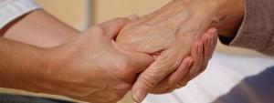 Aide soignant et sénior
