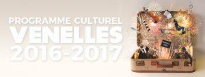 Affiche programme culturel de Venelles 2016/2017
