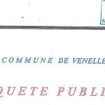 Couverture de l'enqête public de la commune