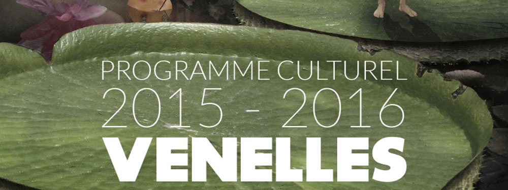 Affiche du programme culturel 2015-2016