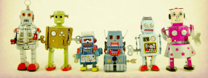 Photo de jouets robots