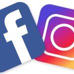 Logo des réseaux sociaux Facebook et instagram