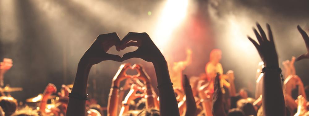 Photo du public à un concert