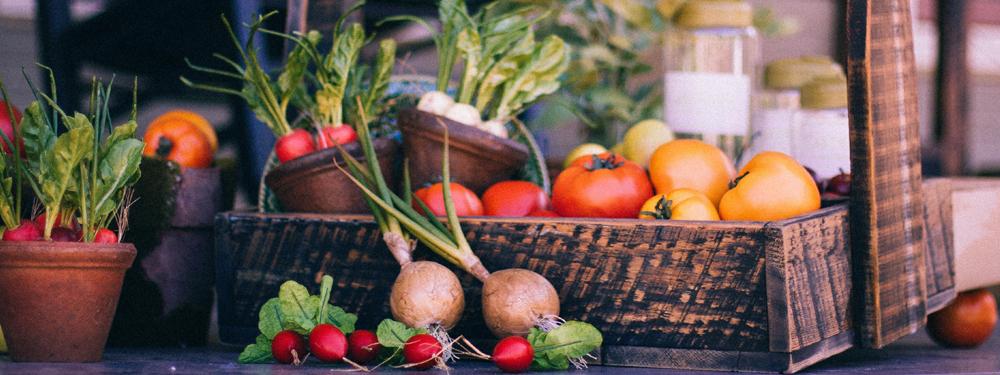 Photo d'un panier de légumes