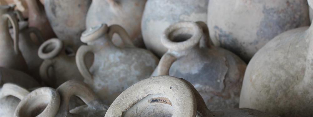 Photo de jarres antiques