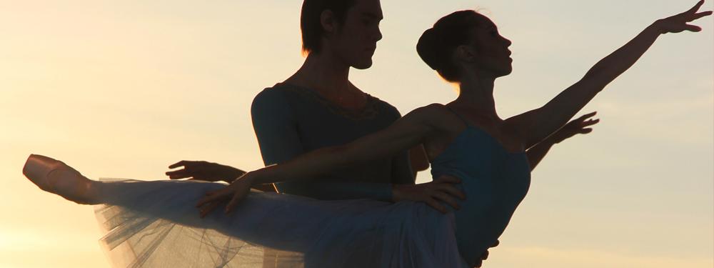 Visuel d'un couple de danseurs classiques