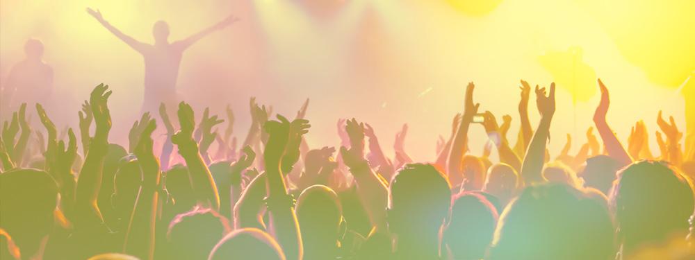 Photo du public pendant un concert