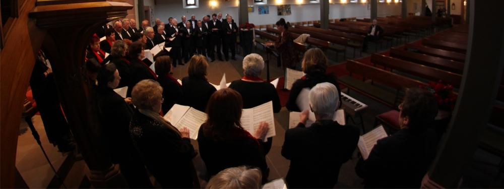 Photo d'un concert dans une église