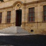 Photo du parvis du Musée Granet d'Aix-en-Provence