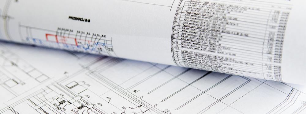 Photo de plans de construction