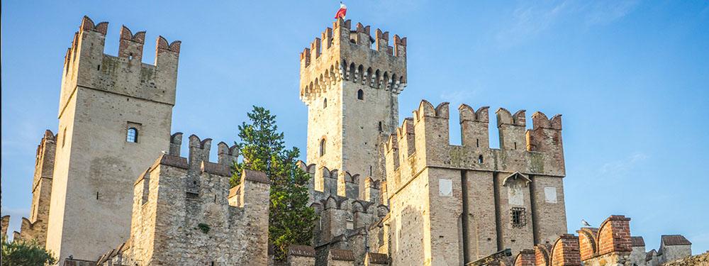 Photo d'un château fort