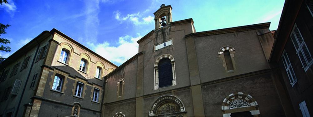 Visuel représentant la façade de Notre Dame de la Seds située à Aix-en-Provence