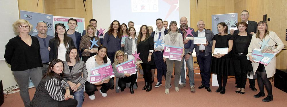 Photo de la remise des prix des trophées des associations