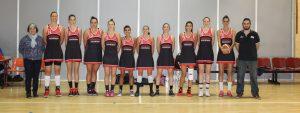 Photo des 10 joueuses de l'équipe féminine de basket de Venelles