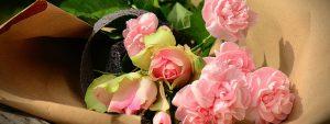 Photo d'un bouquet de roses roses