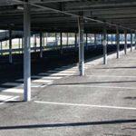 parking de la gare de Simiane