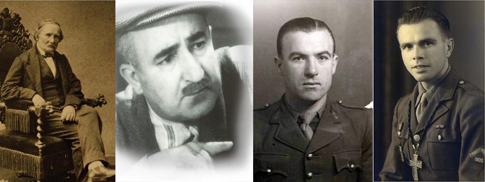Photo des 4 personnalités venelloises