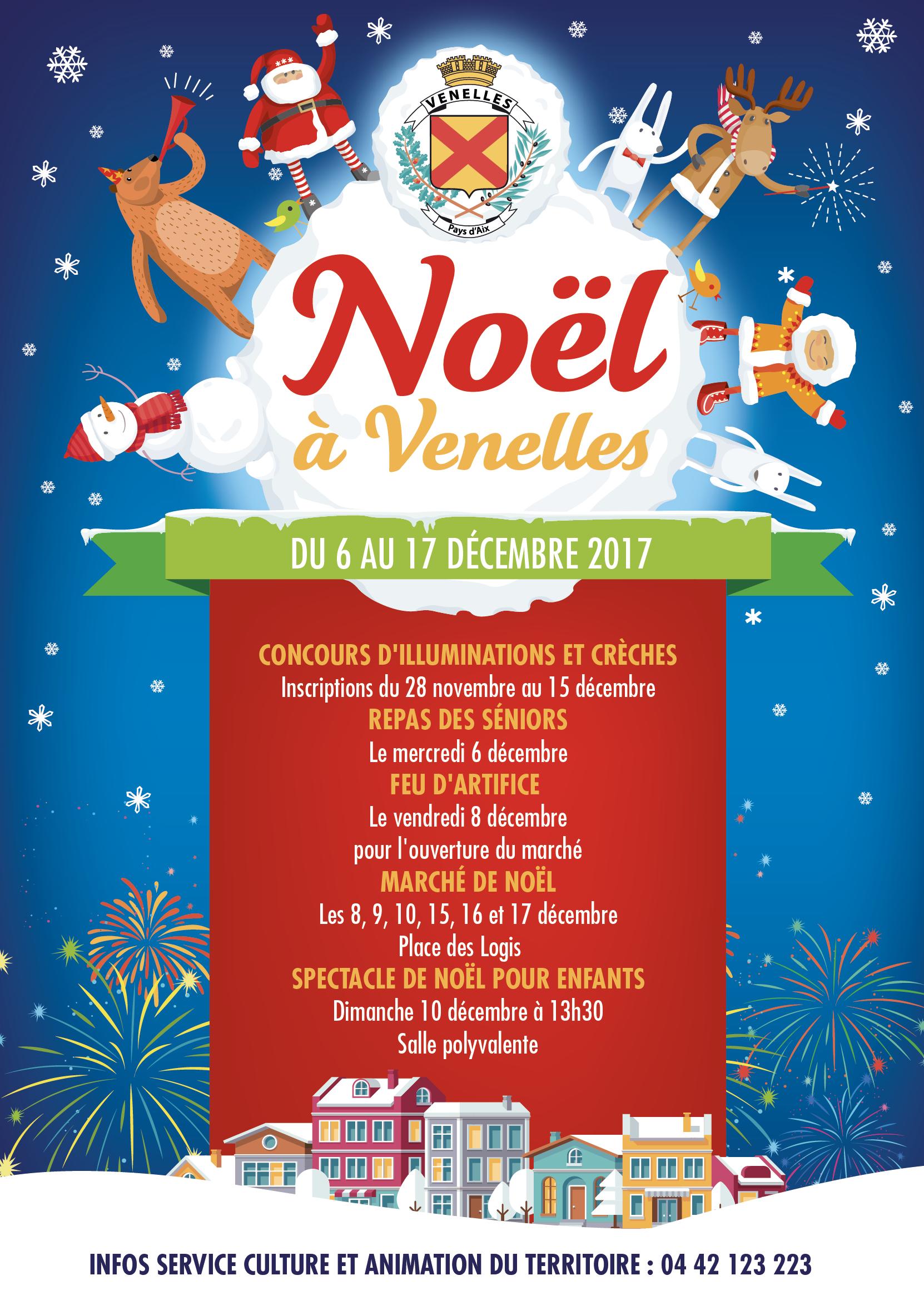 Affiche du programme de Noël 2017