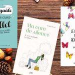 Selection de livres de la médiathèque sur le bien-être