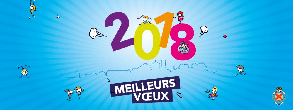 La ville de Venelles vous souhaite ses meilleurs voeux pour l'année 2018