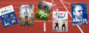 Sélection de livres spéciale sportifs de la médiathèque