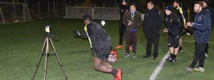 Photo de l'étude de performance des joueurs de foot de l'USV Venelles réalisée par EPS Consulting
