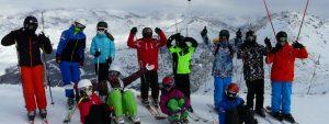 Photo du séjour ski du service jeunesse