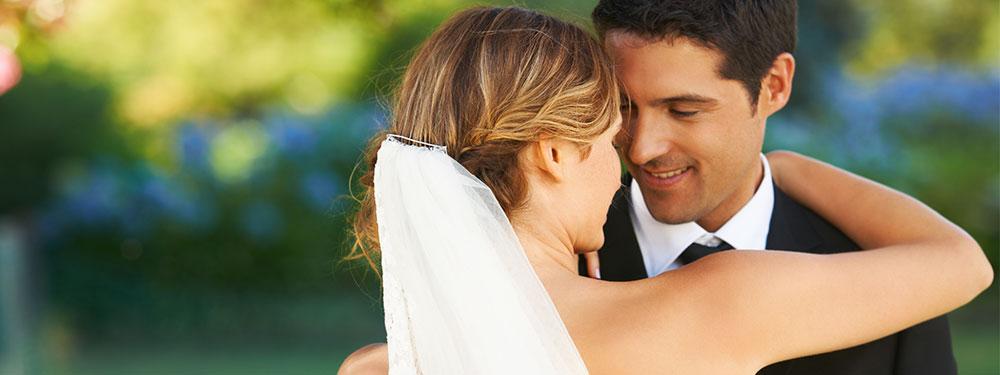 Photo d'un mariage