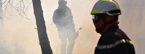Photos de pompiers en action