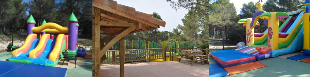 Photos du chalet du parc