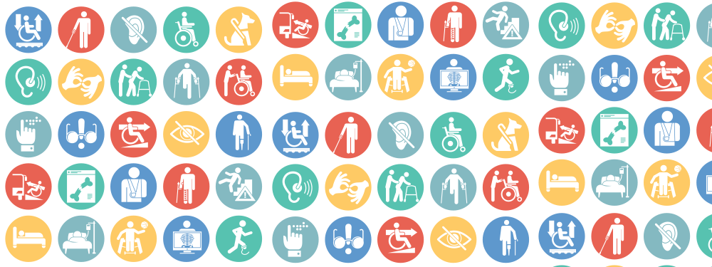 Logo des divers handicaps existants