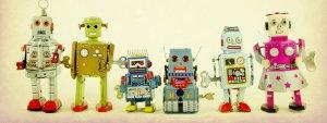Photo de jouets robots
