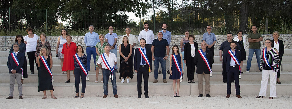 Photo de l'installation du Conseil municipal