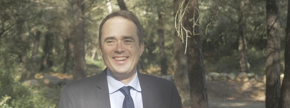 Photo d'Arnaud Mercier, Maire de la ville de Venelles