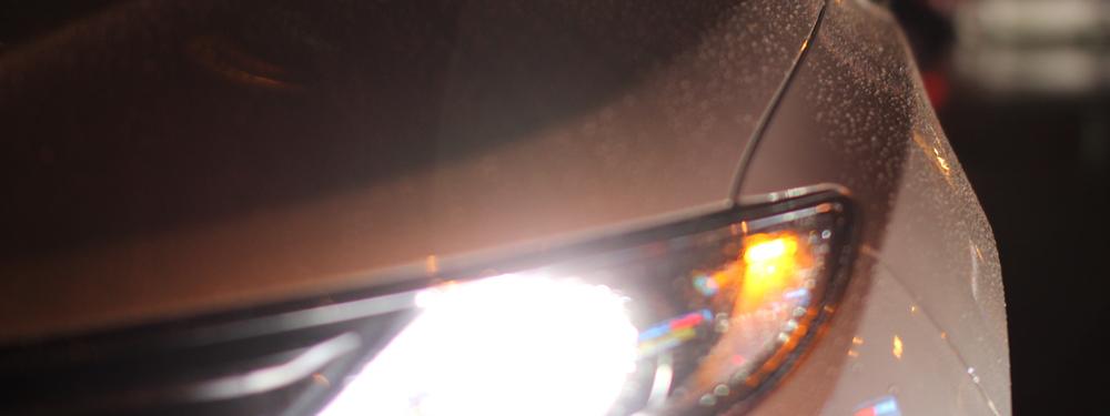 Photo de phares de voiture
