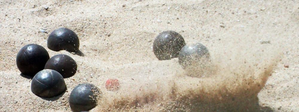 Photo boules de pétanque