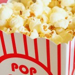 Photo de pots de pop corn