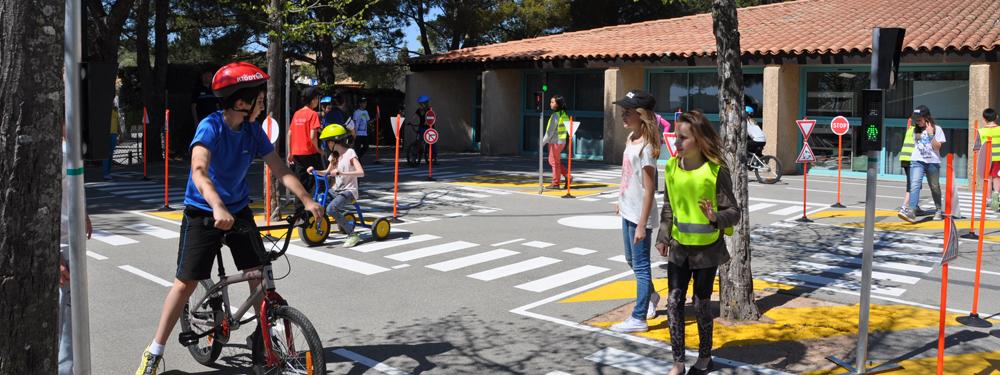 Photo sécurité routière pour les enfants