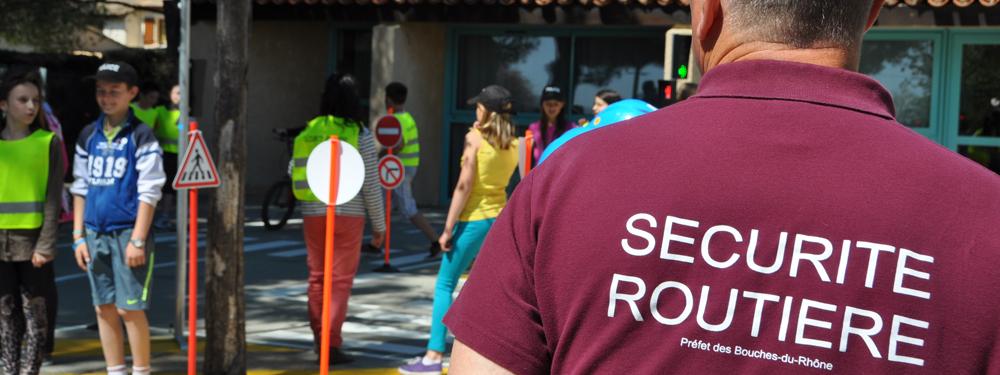 Photo d'un atelier sécurité routière pour les enfants