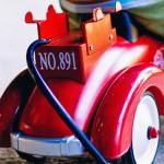 Photo d'un enfant sur une voiturette