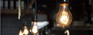 Photo d'ampoules électriques