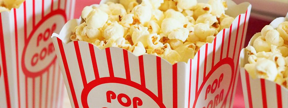 Photo de pots de pop corn