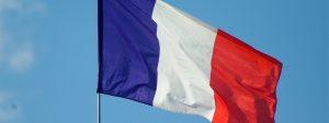 Photo d'un drapeau français