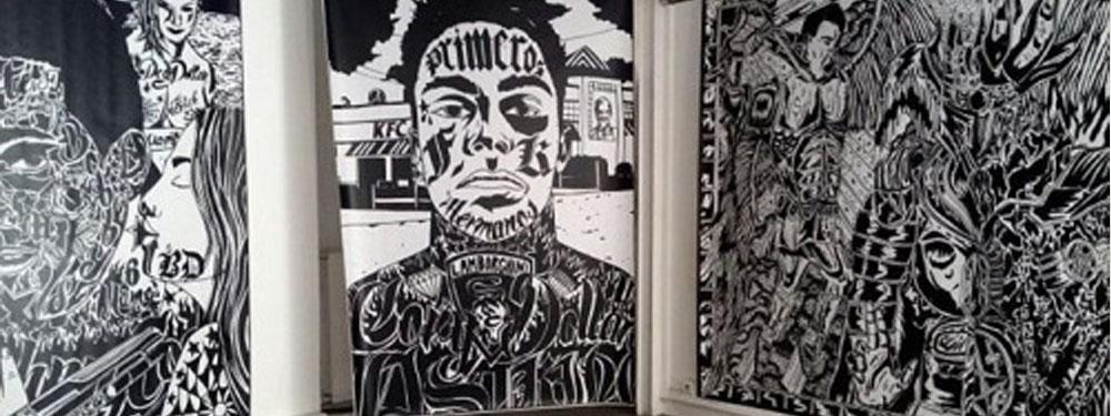 Visuel de 3 œuvres de l'artiste Bobby Dollar