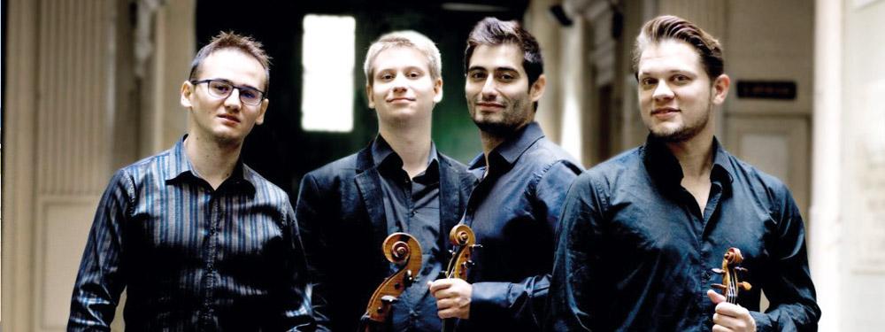 Photo du quatuor Giocoso
