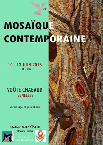 Affiche de l'exposition mosaiques