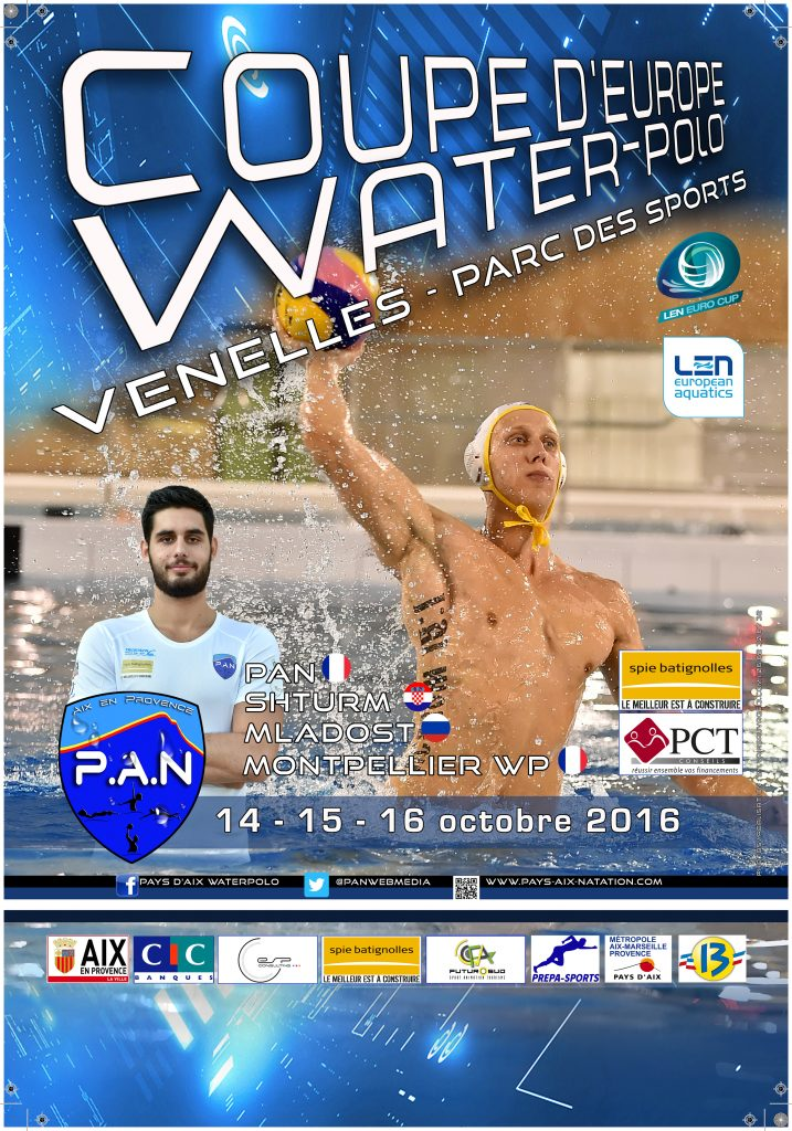 Affiche Eurocup Waterpolo